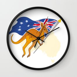 Welcome to Australia Wall Clock