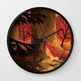 Blindsprings Page Five Wall Clock