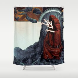 FATED : The Silent Oath - Norns  Shower Curtain