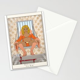 Queen of Cups - Lil Kim Stationery Cards
