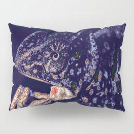Chameleon. Recolored. Pillow Sham