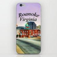 virginia iPhone & iPod Skins featuring Roanoke Virginia by ThePhotoGuyDarren
