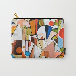 Abstract Beginning Carry-All Pouch