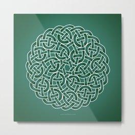 Celtic knot Metal Print