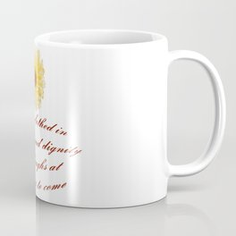 She Is Clothed With Strength And Dignity Proverbs 31:25 Coffee Mug