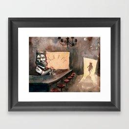 The Royal Ten Dollar Gold Piece Inn and Emporium Framed Art Print