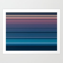 Dawn Machine Art Print