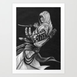 Altair the Assasin  Art Print