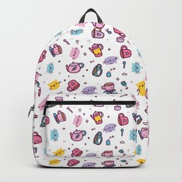 Goth Pastel Kawaii Cats Pattern Backpack