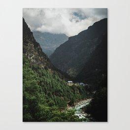 Nepal Series | Phakding, Himalayas Canvas Print