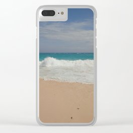Beautiful Beach Bermuda 3 Clear iPhone Case