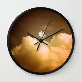 Pegasus Dusk Wall Clock