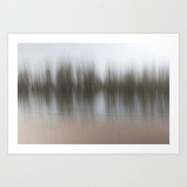 Movement in Nature V Art Print