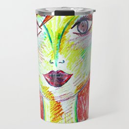 You Don't Scare Me, My Best Friend is Red-Head Travel Mug