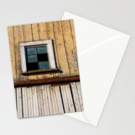 Window of a Barn Stationery Cards