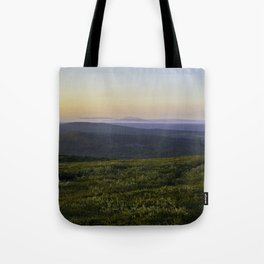 Midnight sun Tote Bag