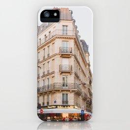 Sunset in Saint-Germain - Paris Photography iPhone Case