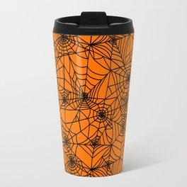 Halloween Cobwebs Travel Mug