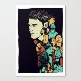 All those beautiful girls and boys Canvas Print