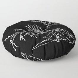 Consolation of Leaves Floor Pillow