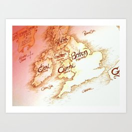 Isles  Art Print