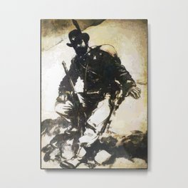 Alpino Metal Print