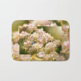 Aesculus chestnut tree blossoms Bath Mat