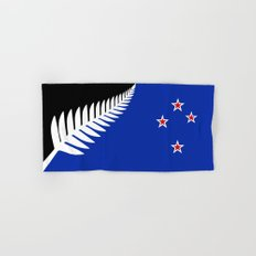 Proposed national flag design for New Zealand Hand & Bath Towel