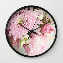 Inspired by beauty Wall Clock