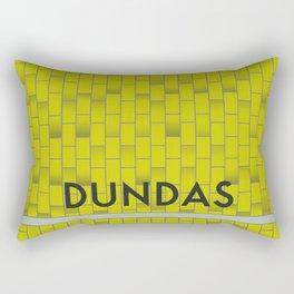 DUNDAS | Subway Station Rectangular Pillow