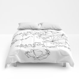 Avatar the Last Airbender: Map (Line) Comforters