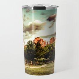 Southwest Chimney Rock Vortex Sedona Arizona Travel Mug