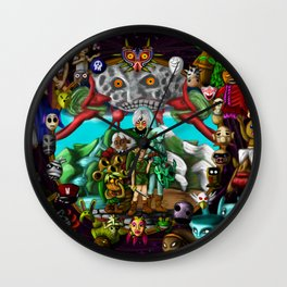Majoras mask Wall Clock