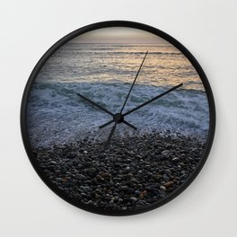 Rocky Shores of Peru Wall Clock