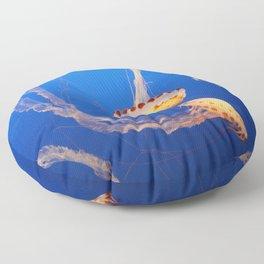 Dance Of The Medusa Floor Pillow