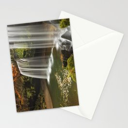 Nabegataki Falls in Japan in autumn Stationery Cards