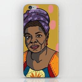 Maya Angelou iPhone Skin