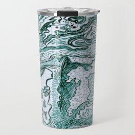 Encre vert Travel Mug