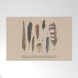 Feathers Welcome Mat