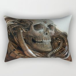 The Timetraveller II Rectangular Pillow