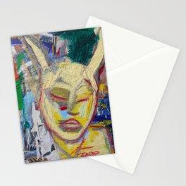 Listen - Original painting Marina Taliera Stationery Cards