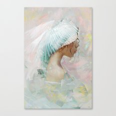 Portrait of a memory Canvas Print