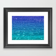 SEA SPARKLE Framed Art Print