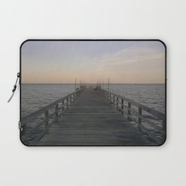 By the Dock, By the Bay Laptop Sleeve