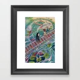 I Remember Now Framed Art Print
