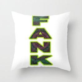 FANK Throw Pillow