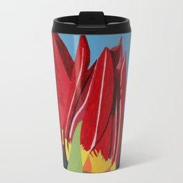 Red & Yellow Tulips Travel Mug