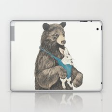 the bear au pair Laptop & iPad Skin