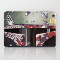 boba fett iPad Cases featuring Boba Fett by Mel Hampson