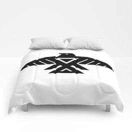 Thunderbird flag - High Quality image Comforters